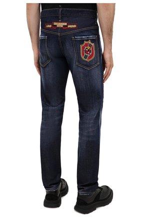Мужские джинсы DSQUARED2 синего цвета, арт. S74LB0811/S30664 | Фото 5