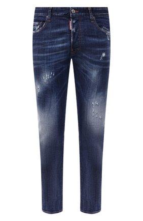 Мужские джинсы DSQUARED2 синего цвета, арт. S74LB0820/S30342 | Фото 1