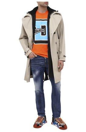 Мужские джинсы DSQUARED2 синего цвета, арт. S74LB0820/S30342 | Фото 2