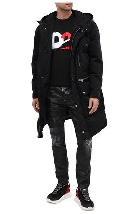 Мужские джинсы DSQUARED2 черного цвета, арт. S79LA0007/S30357 | Фото 2