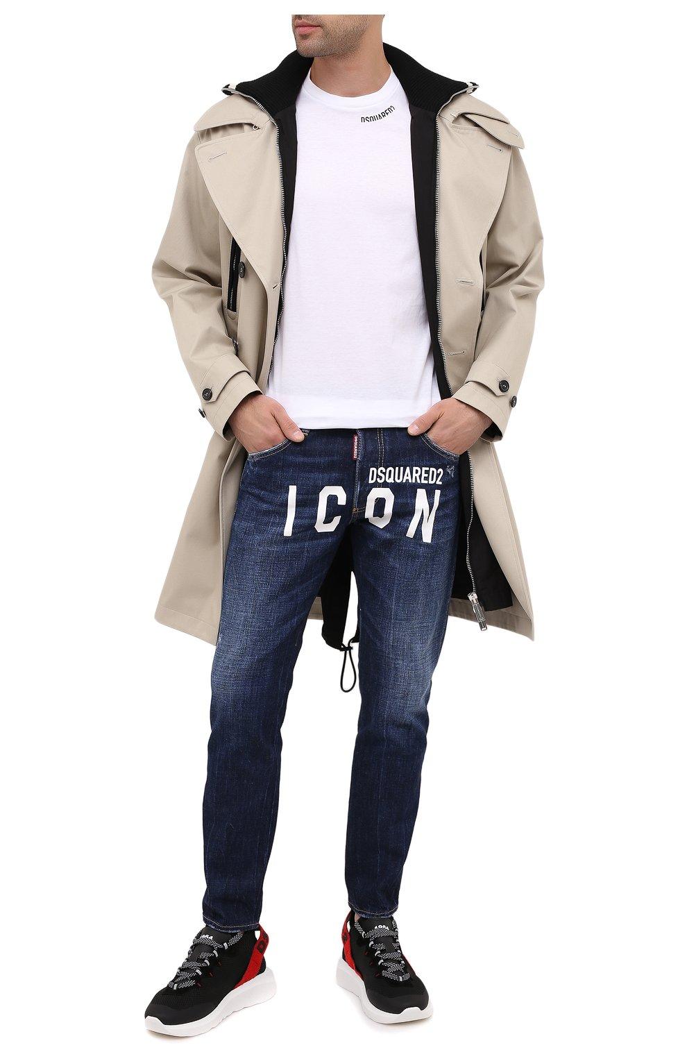 Мужские джинсы DSQUARED2 синего цвета, арт. S79LA0012/S30309 | Фото 2