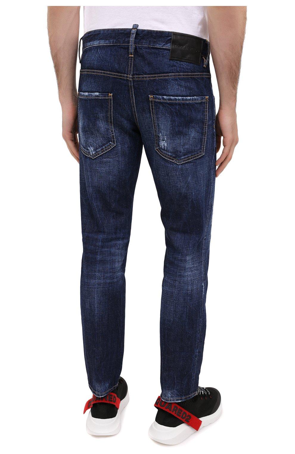 Мужские джинсы DSQUARED2 синего цвета, арт. S79LA0012/S30309 | Фото 5