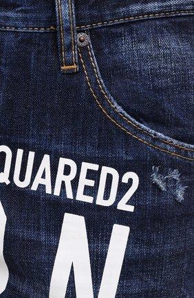 Мужские джинсы DSQUARED2 синего цвета, арт. S79LA0012/S30309 | Фото 6