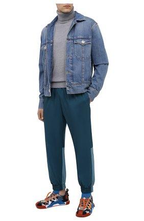 Мужской шерстяной свитер KENZO серого цвета, арт. FA65PU5383TA | Фото 2
