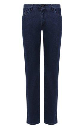 Мужские джинсы PAUL&SHARK синего цвета, арт. C0P4009/DUI | Фото 1