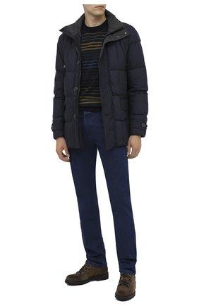 Мужские джинсы PAUL&SHARK синего цвета, арт. C0P4009/DUI | Фото 2