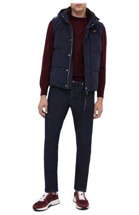 Мужские джинсы PAUL&SHARK темно-синего цвета, арт. I20P4200/CYB | Фото 2