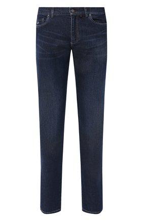 Мужские джинсы PAUL&SHARK синего цвета, арт. I20P4201/CYB | Фото 1
