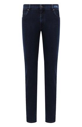 Мужские джинсы PAUL&SHARK темно-синего цвета, арт. I20P4210/CYB | Фото 1