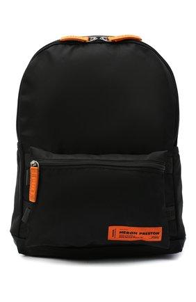 Мужской текстильный рюкзак HERON PRESTON черного цвета, арт. HMNB012F20FAB0011000   Фото 1