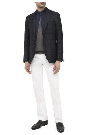 Мужской шерстяной пиджак CORNELIANI темно-синего цвета, арт. 86X528-0816318/90 | Фото 2
