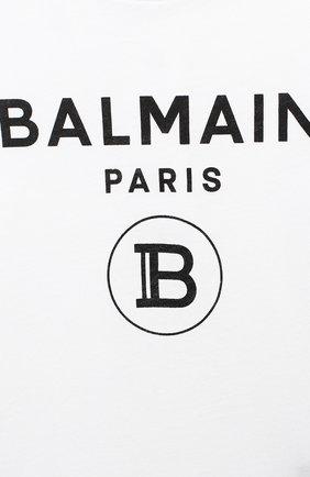 Детское комплект из двух боди BALMAIN черно-белого цвета, арт. 6N0920/NX290/12-36M | Фото 4
