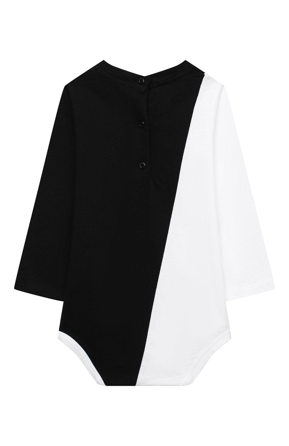 Детское комплект из двух боди BALMAIN черно-белого цвета, арт. 6N0920/NX290/12-36M | Фото 6