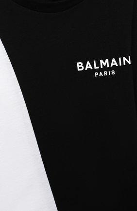 Детское комплект из двух боди BALMAIN черно-белого цвета, арт. 6N0920/NX290/12-36M | Фото 7