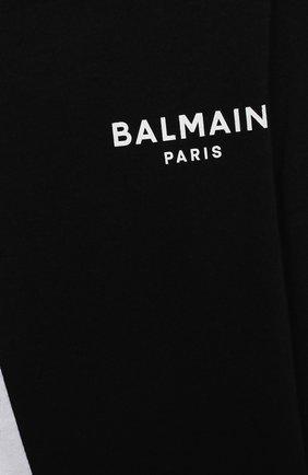 Детское комплект из двух боди BALMAIN черно-белого цвета, арт. 6N0920/NX290/3-9M | Фото 7