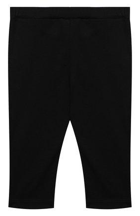 Детские хлопковые брюки BALMAIN черного цвета, арт. 6N6330/NX290/12-36M | Фото 2