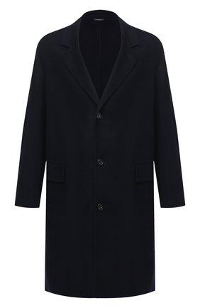 Мужской кашемировое пальто LORO PIANA темно-синего цвета, арт. FAL2605 | Фото 1