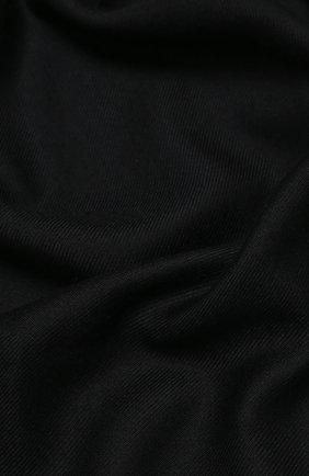 Мужской шарф из шелка и кашемира BRIONI черного цвета, арт. 03UG00/0943J | Фото 2