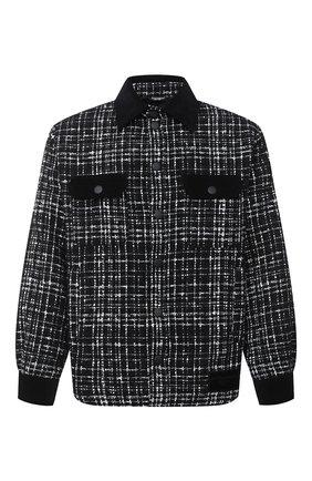 Мужская куртка DOLCE & GABBANA черно-белого цвета, арт. G5HX0T/FMMFS | Фото 1