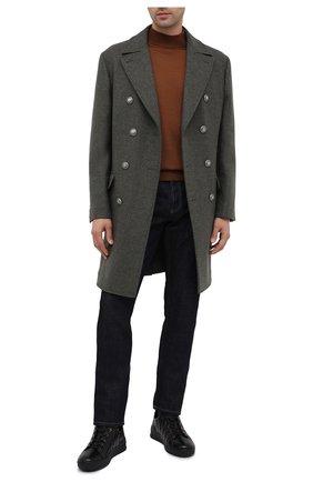 Мужские кожаные кеды BOGNER черного цвета, арт. 103-6123/C0L0GNE 5A | Фото 2