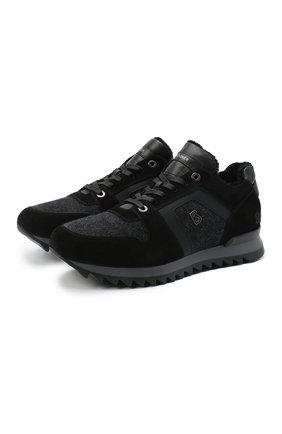 Мужские комбинированные кроссовки BOGNER темно-серого цвета, арт. 103-B853/SEATTLE 9 | Фото 1