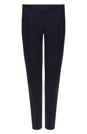 Мужской шерстяные брюки CORNELIANI темно-синего цвета, арт. 864L08-0817236/00 | Фото 1