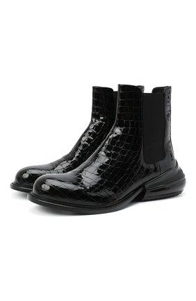 Мужские кожаные челси MAISON MARGIELA черного цвета, арт. S37WU0414/P3715 | Фото 1