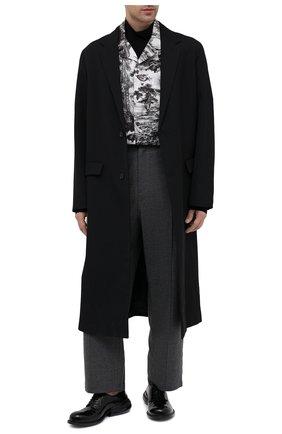 Мужской кожаные дерби MAISON MARGIELA черного цвета, арт. S57WQ0103/P3715 | Фото 2