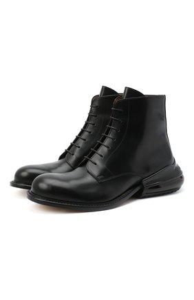 Мужские кожаные ботинки MAISON MARGIELA черного цвета, арт. S57WU0206/P3292 | Фото 1