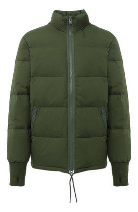 Мужская пуховая куртка KENZO хаки цвета, арт. FA650U1281NI   Фото 1