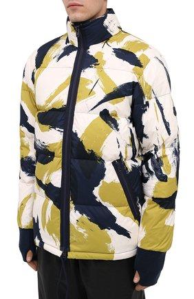 Мужская пуховая куртка KENZO разноцветного цвета, арт. FA650U1281NN | Фото 3