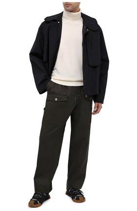 Мужской шерстяной свитер KENZO кремвого цвета, арт. FA65PU5383TA   Фото 2