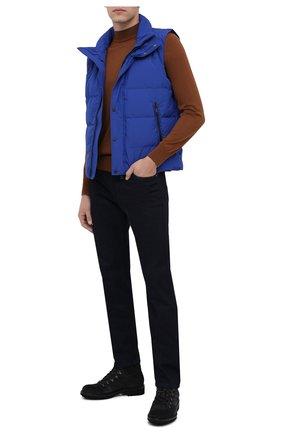 Мужской пуховый жилет PAUL&SHARK синего цвета, арт. I20P2021/HRS   Фото 2