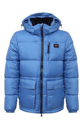 Мужская пуховая куртка PAUL&SHARK голубого цвета, арт. I20P2284/H1T   Фото 1