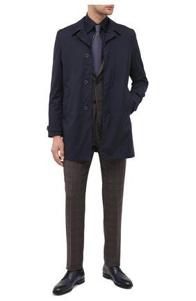 Мужские кожаные дерби ERMENEGILDO ZEGNA синего цвета, арт. A4465X-LHNAX | Фото 2