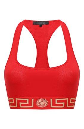 Женский бра-топ VERSACE красного цвета, арт. AUD01039/A232741 | Фото 1
