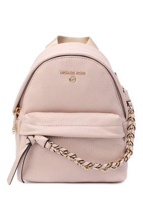 Женский рюкзак slater small MICHAEL MICHAEL KORS розового цвета, арт. 30T0G04B0L | Фото 1