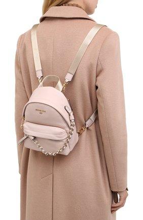 Женский рюкзак slater small MICHAEL MICHAEL KORS розового цвета, арт. 30T0G04B0L | Фото 2