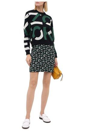 Женская юбка kenzo sport KENZO зеленого цвета, арт. FA62JU5313SC | Фото 2