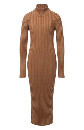 Женское шерстяное платье KENZO коричневого цвета, арт. FA62R05053AJ | Фото 1