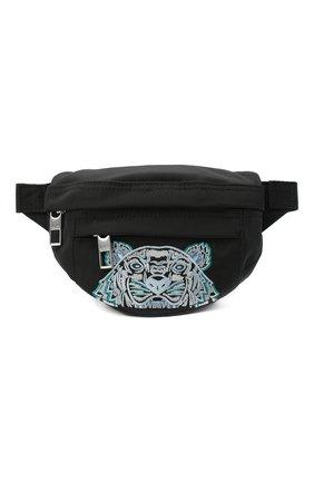 Женская поясная сумка kampus KENZO черного цвета, арт. FA65SF307F20 | Фото 1