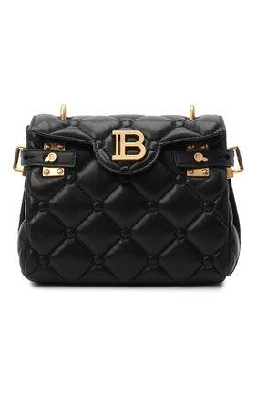 Женский рюкзак BALMAIN черного цвета, арт. UN1S493/LNPW | Фото 1