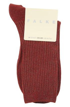 Женские носки FALKE бордового цвета, арт. 46333 | Фото 1