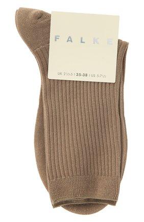 Женские носки FALKE бежевого цвета, арт. 46333 | Фото 1