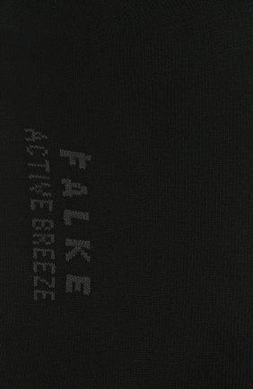 Женские носки FALKE черного цвета, арт. 46125 | Фото 2