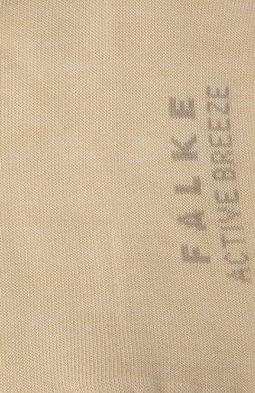 Женские носки FALKE кремвого цвета, арт. 46125 | Фото 2