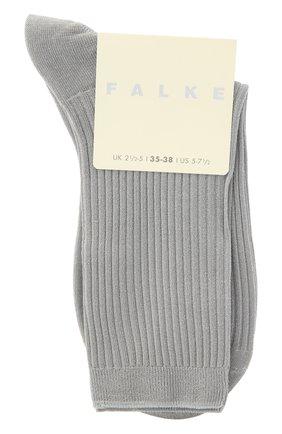 Женские носки FALKE серебряного цвета, арт. 46333 | Фото 1