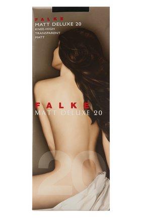 Женские капроновые гольфы matt deluxe FALKE черного цвета, арт. 41720 | Фото 1