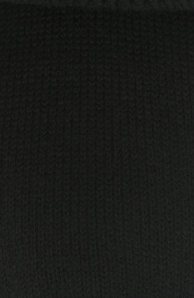 Женские шерстяные носки FALKE черного цвета, арт. 47520   Фото 2 (Материал внешний: Шерсть, Синтетический материал)
