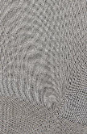 Женские хлопковые носки FALKE серого цвета, арт. 47535 | Фото 2